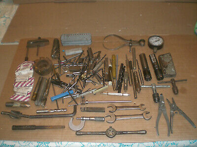 Mixed Machinist lot from tool box clean out   lot 1