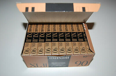 Maxell XL-II 90  10-Pack neu - Made in Japan