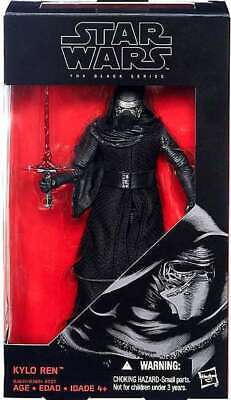 Star Wars The Force Awakens Black Series 6-inch Kylo Ren Figure New in Package