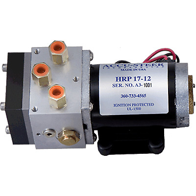 Accusteer Hydraulic Pump, 12V, 1.6 ci/sec.