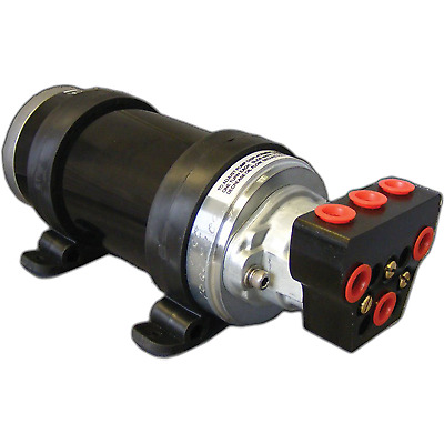 Octopus & IntelliSteer Dist. Piston Pump, 2L/min, 24V, ORB Ports