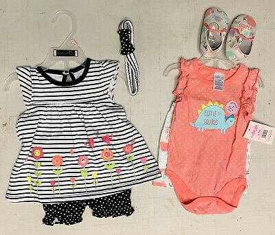 6-9 mo Baby Girl's Sets Outfits    Spring Summer
