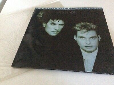 "The Best Of Omd - Orchestral Manoeuvres In The Dark Vinyl Album 12"" Gatefold Lp"