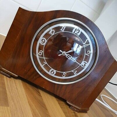 Smith's Sectric Westminster Chiming Electric Mantel Clock Fully Working