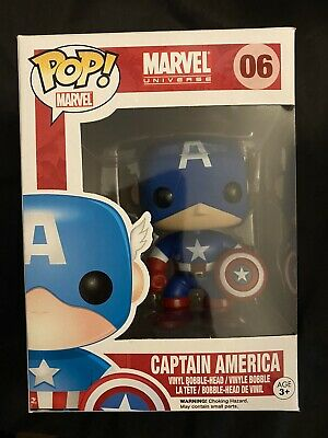 Funko Pop Marvel Captain America 06