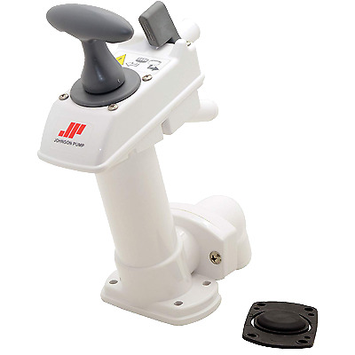 JOHNSON PUMPS Manual Toilet Hand Pump