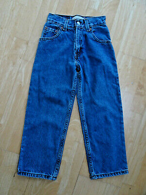 LEVIS 550 boys blue denim relaxed fit jeans AGE 6 YEARS SLIM FIT