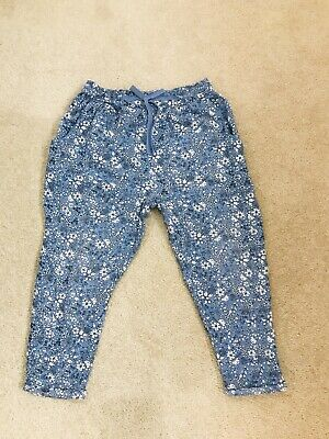 Next Girls Casual Trousers Age 6