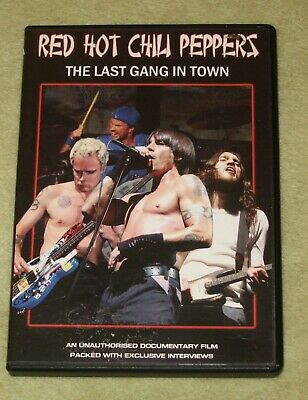 Red Hot Chili Peppers - The Last Gang In Town Dvd