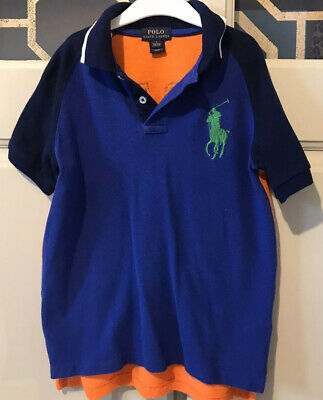 Boys genuine Ralph Lauren Polo Shirt - Age 7- In Great Condition
