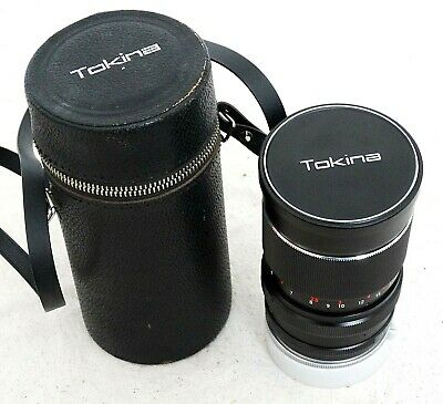 TOKINA 55mm-135mm, F3.5 Manual & Auto Zoom Lens for Nikon SLR Camera