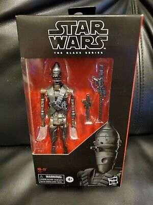 Star Wars The Black Series IG-11 Assassin Droid The Mandalorian exclusive NM NEW