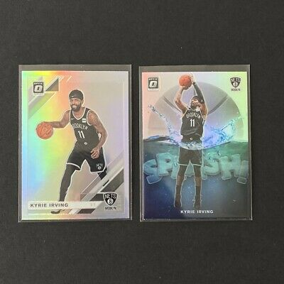 Kyrie Irving 2019-20 Panini Optic Prizm HOLO & Splash Holo Insert LOT