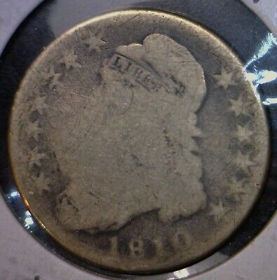 1810 Capped Bust Half Dollar Silver Coin NICE Early Coins Lot #1     NR