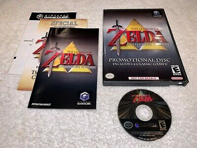Legend of Zelda Collector's Edition (Nintendo GameCube, 2003) Complete Nr Mint!