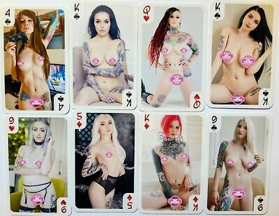 Erotic playing cards - 54 - Suicide Girls (Poker deck)
