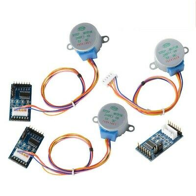For Arduino 3PCS/Sets Motor Driver Board ULN2003 + DC 5V Stepper Motor 28BYJ-48