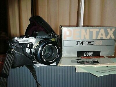 Pentax ME Super 35mm SLR Film Camera