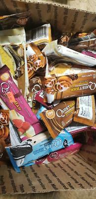 91 Assorted Quest Cookie / Nutrition Bars No Reserve Lqqk