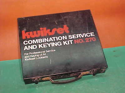 Kwikset Combination Service and Keying Kit No. 270