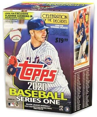 MLB Topps 2020 Baseball Series 1 Trading Card BLASTER Box [Exclusive]