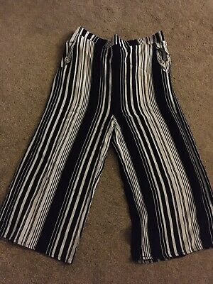 Primark Girls Calf Length Trousers Age 13-14 Years