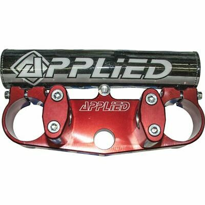 Rm125/250 Red Applied Racing Standard Bar Solid Wrap Mount Kit