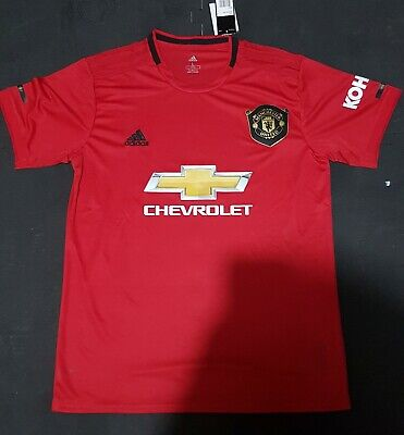 Manchester United 2019/20 Home Shirt Men's Large Brand New