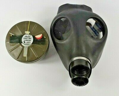 Vintage Israeli Gas Mask Sealed with Mask Filter Unknown Origin Found in Houston