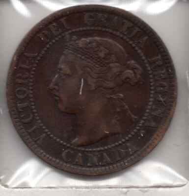 1894 Canada One Cent - XF