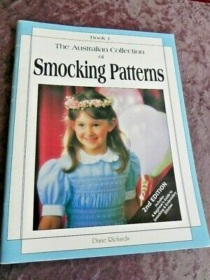 The Australian Collection of Smocking Patterns - Book 1 - Soft Cover Book