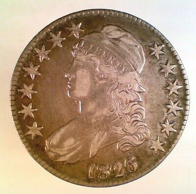 1826 Capped Bust Silver Half Dollar (003)