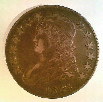 1828 Capped Bust Silver Half Dollar (003)