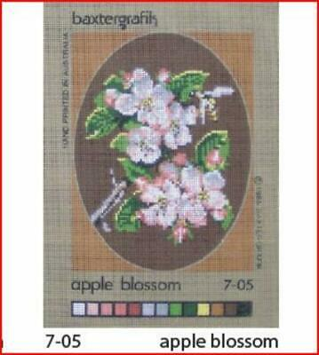 Needlepoint Canvas: Apple Blossoms