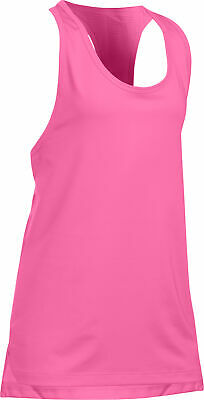 Under Armour HeatGear Armour Girls Tank Top - Pink