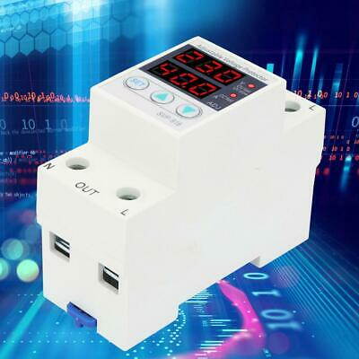 Rail Adjustable Over Voltage & Under Voltage Protective Device Protector Relay