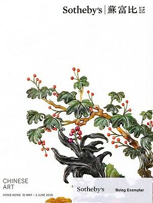 CHINESE ART: Sotheby's Katalog HK 18 + results