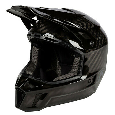 Klim F3 Carbon MX Helm Ghost