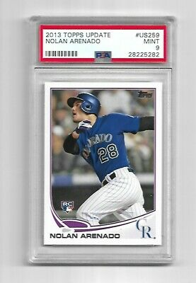 2013 Topps Update Baseball PSA 9 MINT Nolan Arenado RC card #US259 qty available