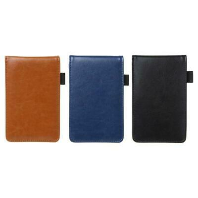 Pocket Planner A7 Notebook Small Notepad Leather Cover Business Diary Memos Hot