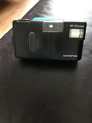 Olympus AF-10 35mm 1:3,5, point & shoot film camera