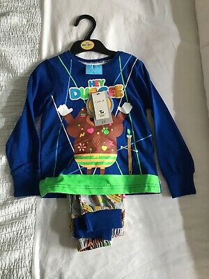 3-4 Years Hey Duggee Boys Pyjamas New With Tags TU