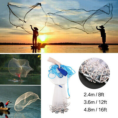 Square Round Childrens Black Large Fishing Net Summer Outdoor Lake High Quality