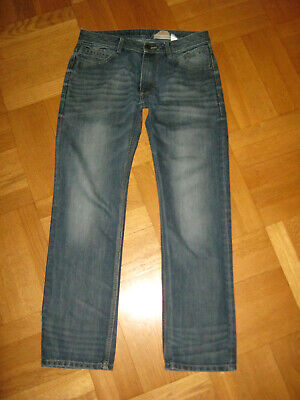 Tom Tailor BRAD HERREN JEANS Straight Regular DENIM Men TROUSERS * W32 L32