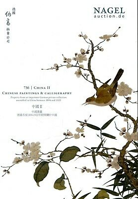 CHINESE PAINTINGS & CALLIGRAPHY - Gr. Katalog Nagel 16 +results