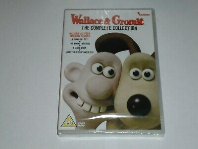 WALLACE & GROMIT Complete Collection DVD NEW SEALED Grand Day Out Wrong Trousers