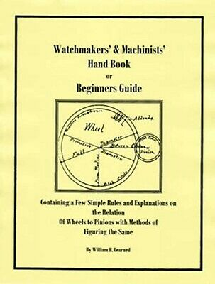Watchmakers' & Machinists' Handbook - How to PDF Book