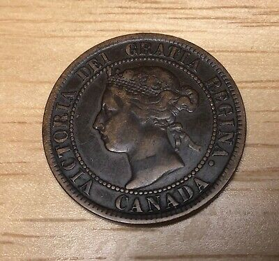 1895 Canada Large Cent, Nice  Extra Fine!