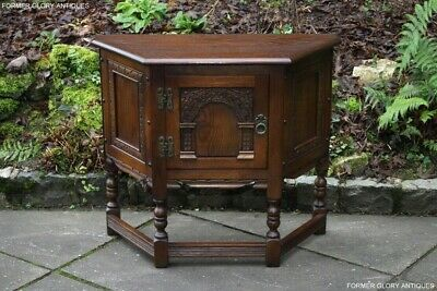 An Old Charm Light Oak Cabinet Cupboard Dresser Base Sideboard Hall Phone Table