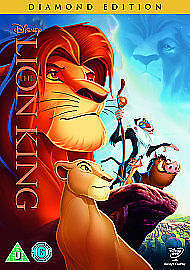 The Lion King (DVD, 2014) Disney no 32 oval on spine